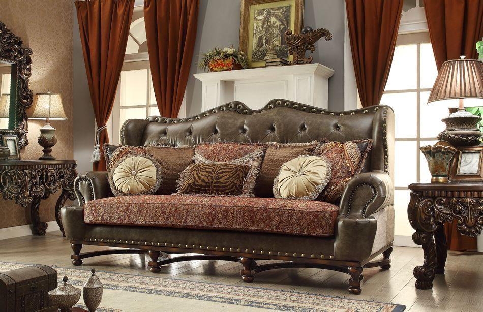 Charmant Homey Design HD 47 Victorian Sofa