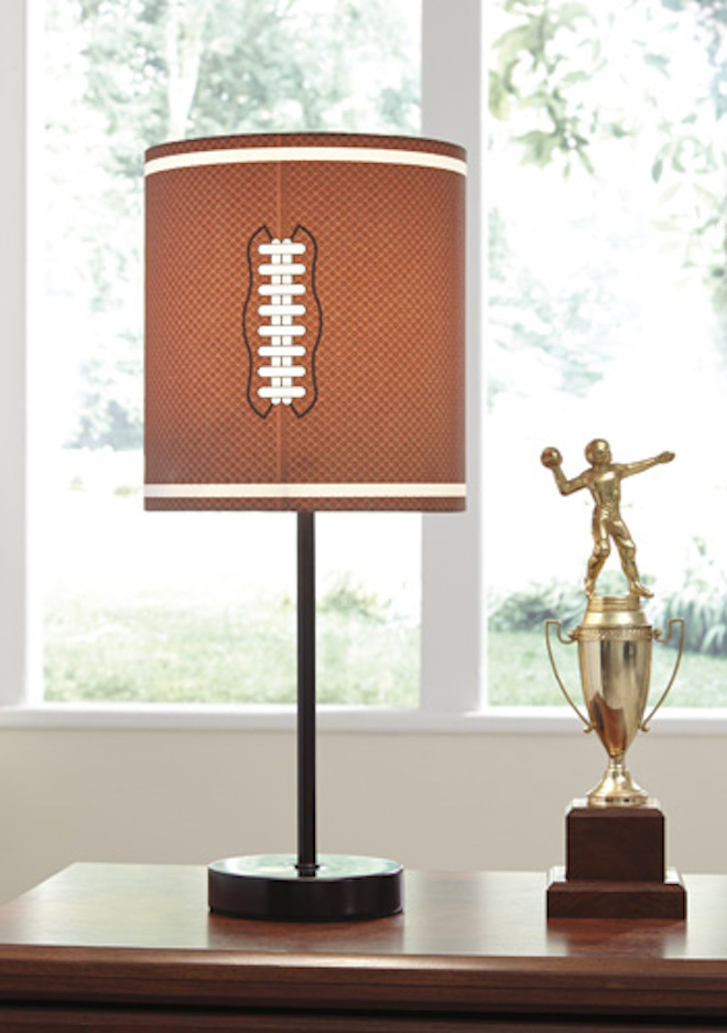 L857754 Lamar By Ashley Metal Table Lamp In Brown Bronze