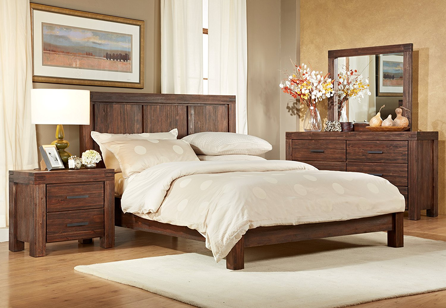 Meadow by Modus Platform Bedroom Set