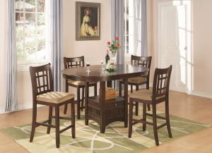 Furniture Outlet, counter height Dining Table Set, pedestal table ...