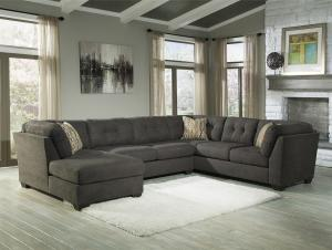 Delta City Steel Collection 19700 16 Sectional Sofa