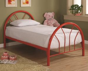 Hurst Collection 2389R Red Twin Bed Frame
