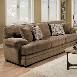 Charmant Abrianna Brown Chenille Fabric Sofa SM5162BR SF By Furniture Of America