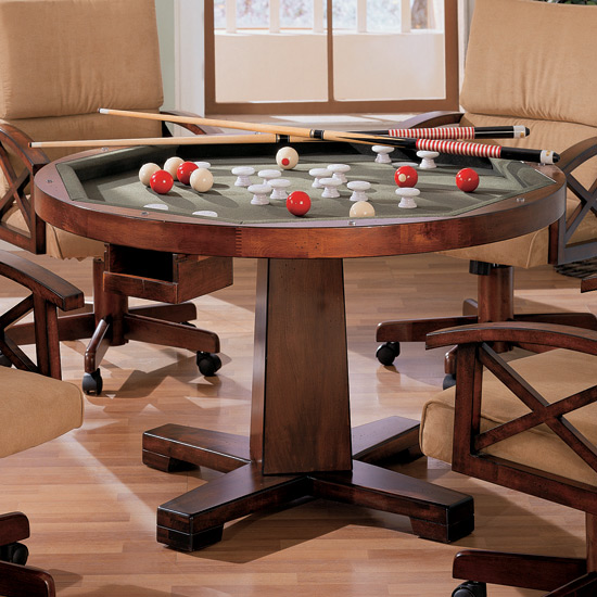 Binion Collection 100171 Bumper Pool Poker Game Table