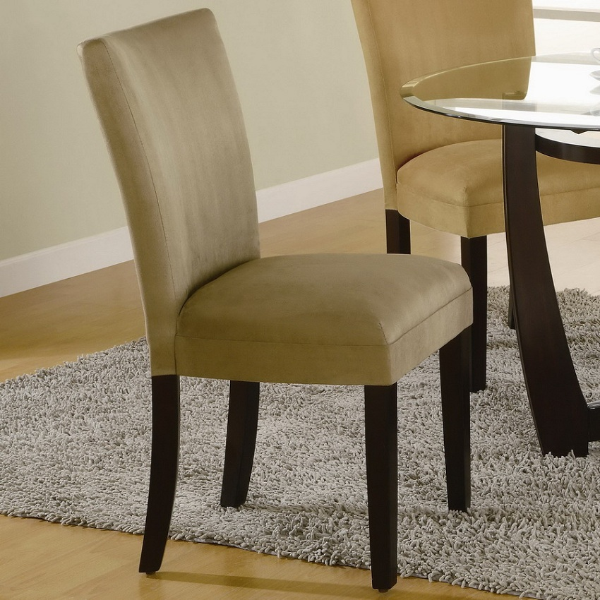 Castana collection 101661 casual dining table set coaster for Casual dining table set