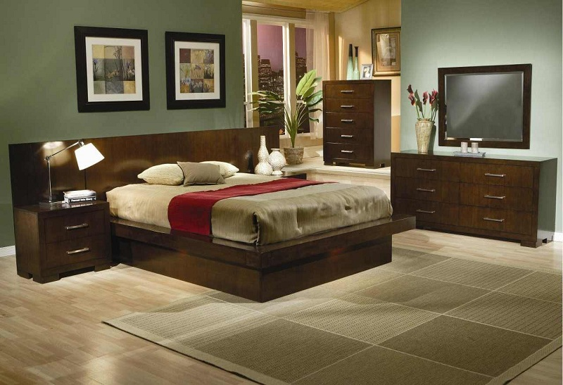 Jessica Collection 200711 Platform Bedroom Set