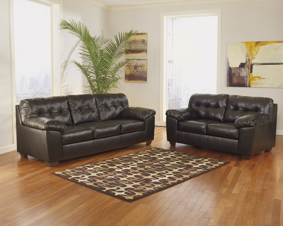 Ashley Furniture Alliston Durablend Chocolate Collection 20101 Sectional Chaise Sofa San Diego
