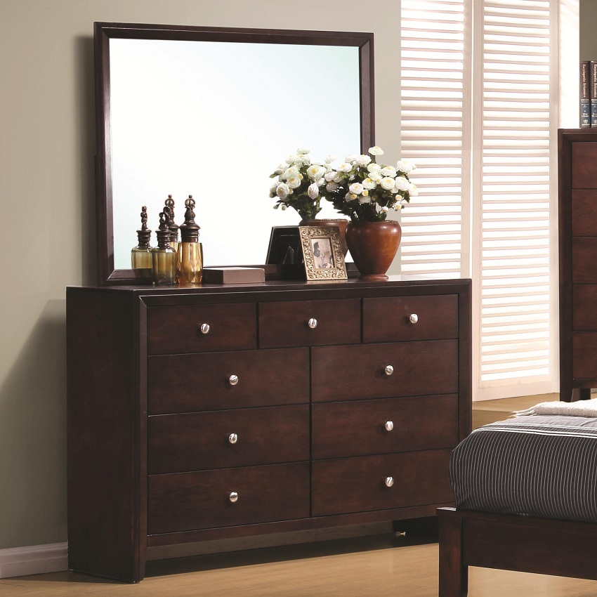 Serenity Collection 201971 Merlot Bedroom Set Coaster Furniture Living Spaces Ashley Furniture