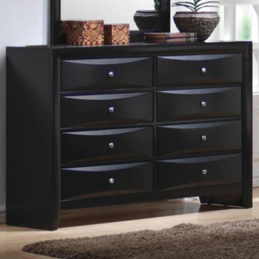 Briana Collection 202701 Black Storage Bedroom Set