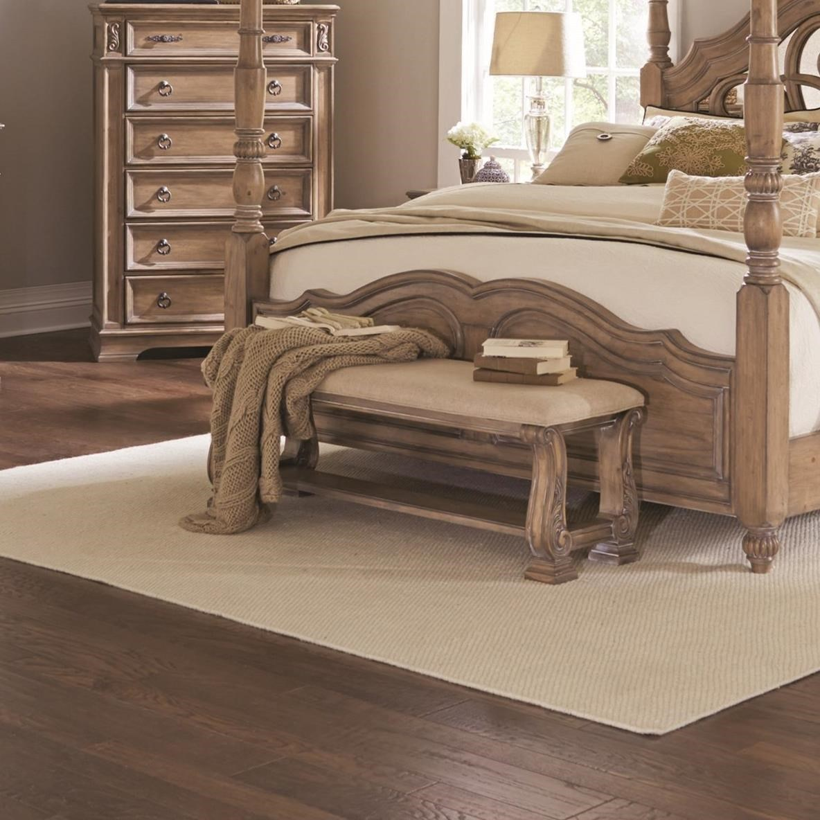 Ilana Collection 205070 Traditional Upholstered Storage Bedroom ...
