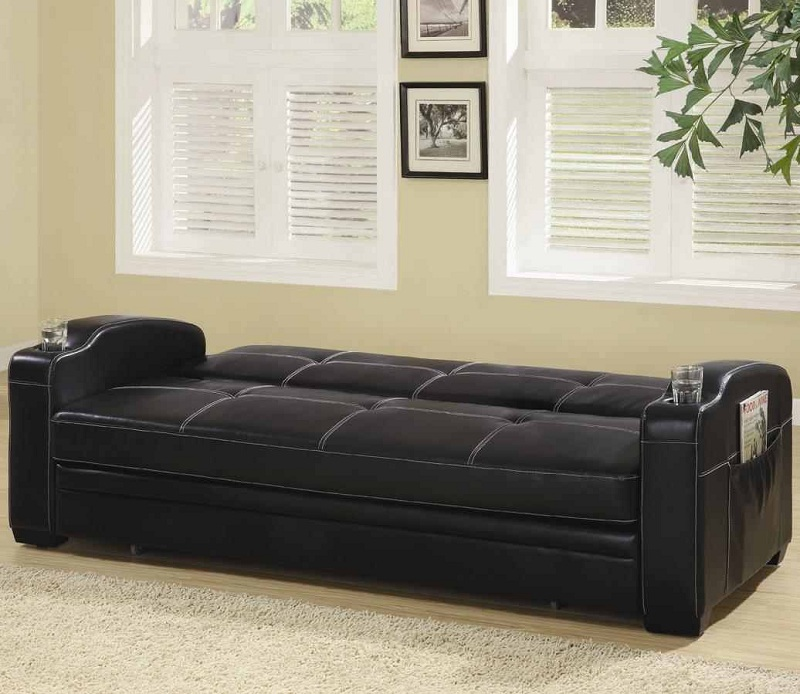 Arlington Collection 300132 Black Futon