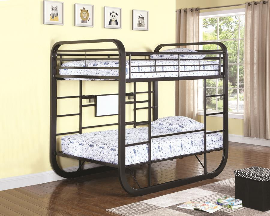 archer collection 400020f convertible workstation fullfull bunk bed