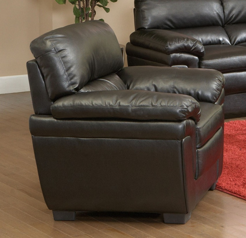 Fenmore Collection 502951 Black Sofa Amp Loveseat Set