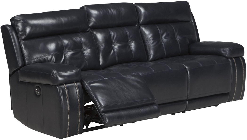 Graford Collection 64703 Power Reclining Navy Blue Top