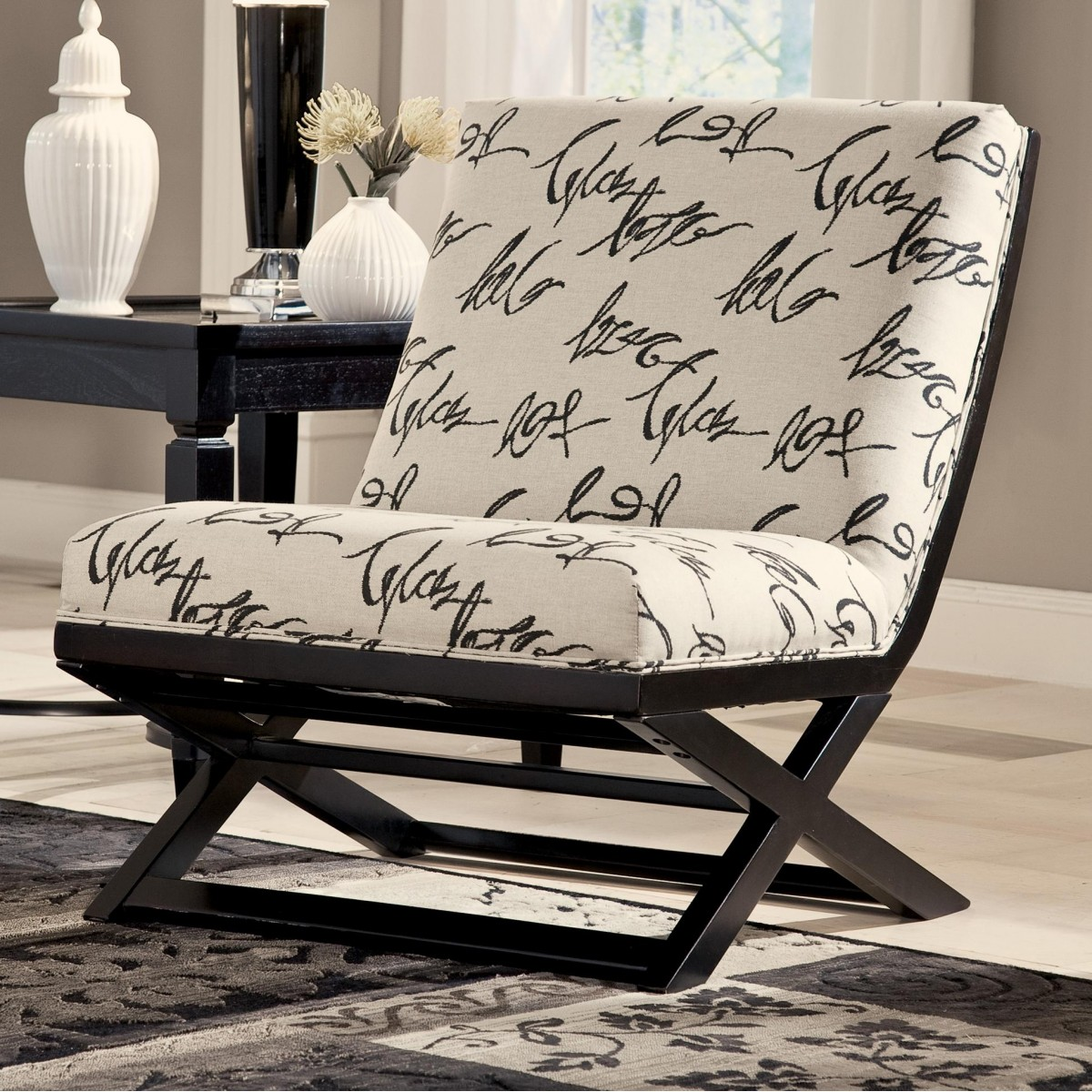 Levon Collection Charcoal Sofa Amp Loveseat Set