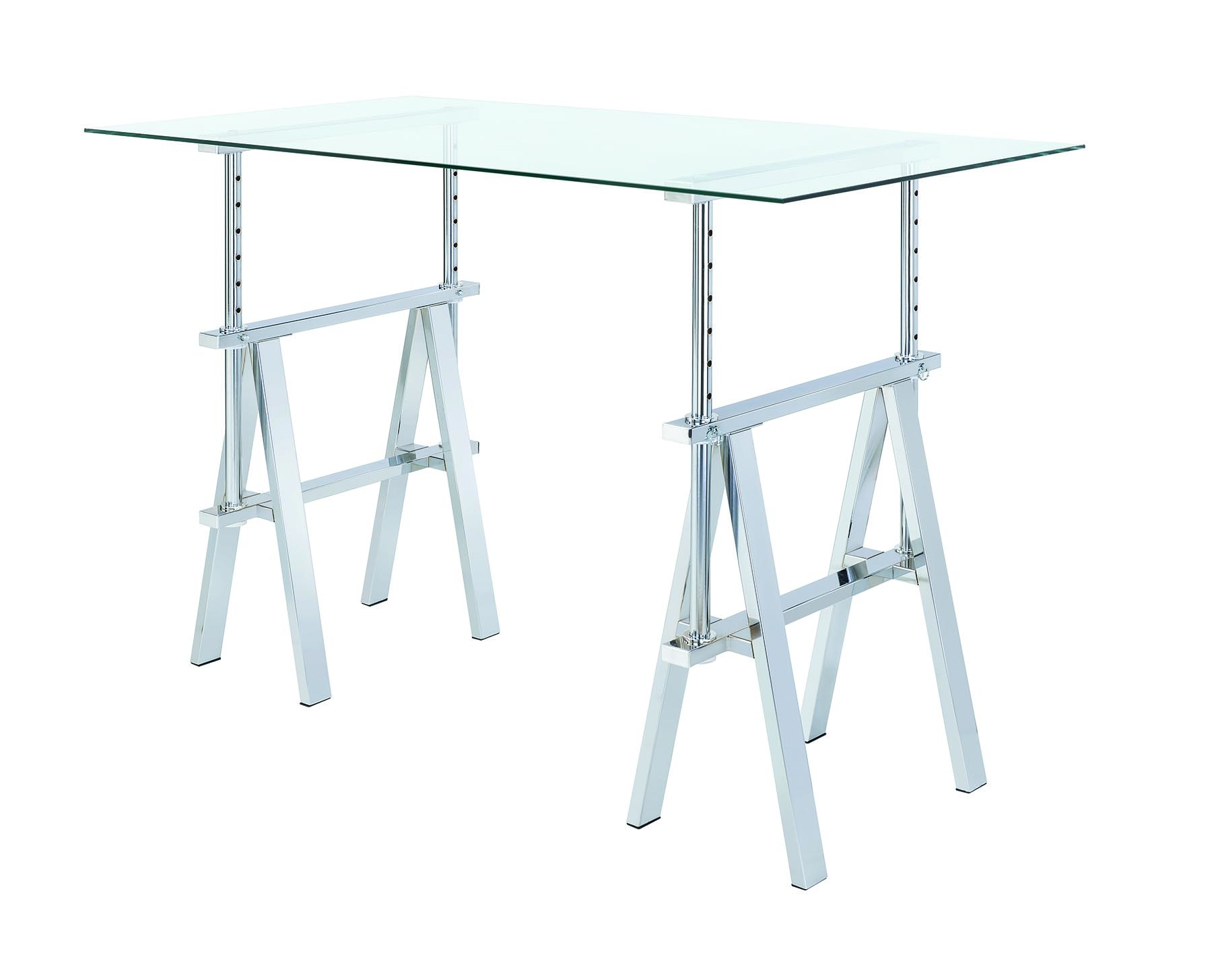 Adjustable Height Tempered Glass 800900 Stand Or Sit