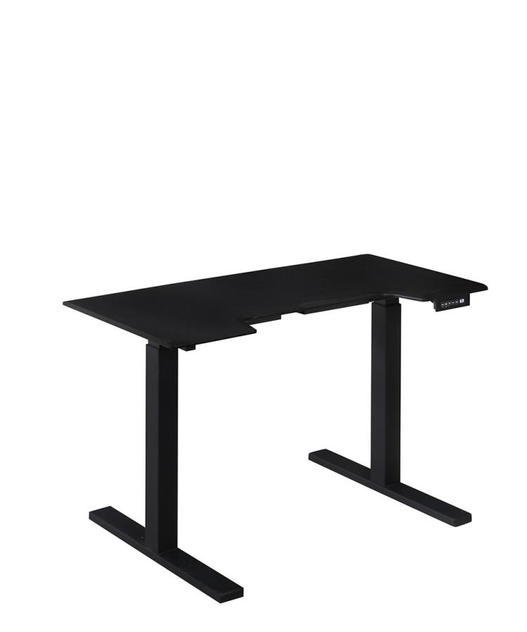 Coaster 801886M Black Motorized Standing Desk
