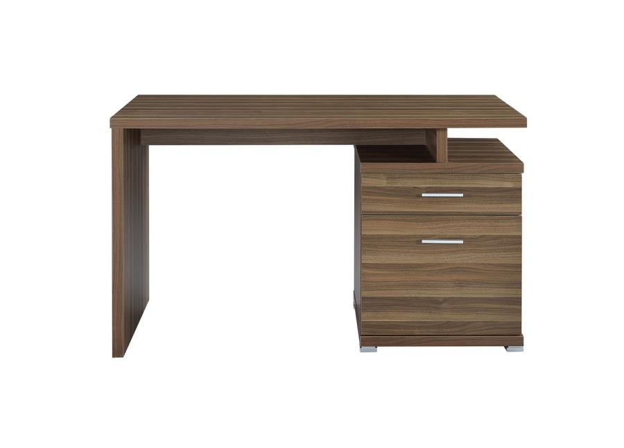 Meilani Collection 802109 Walnut Finish Office Desk