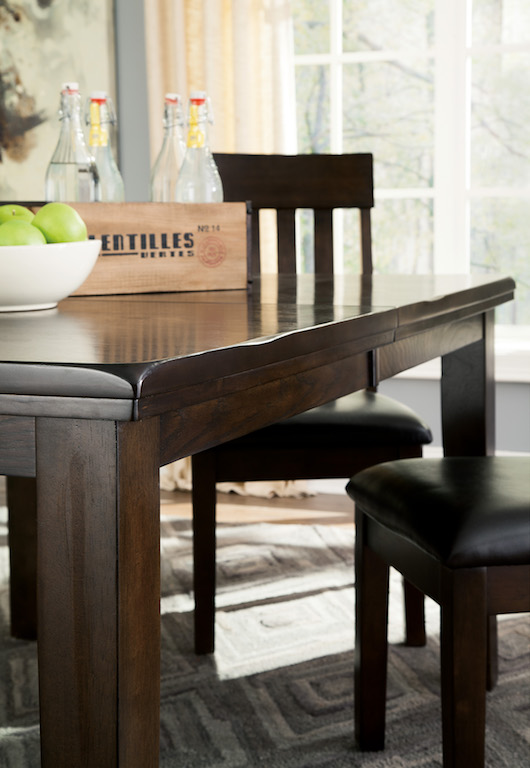 Ashley Ralene Collection D596 Dining Room Set