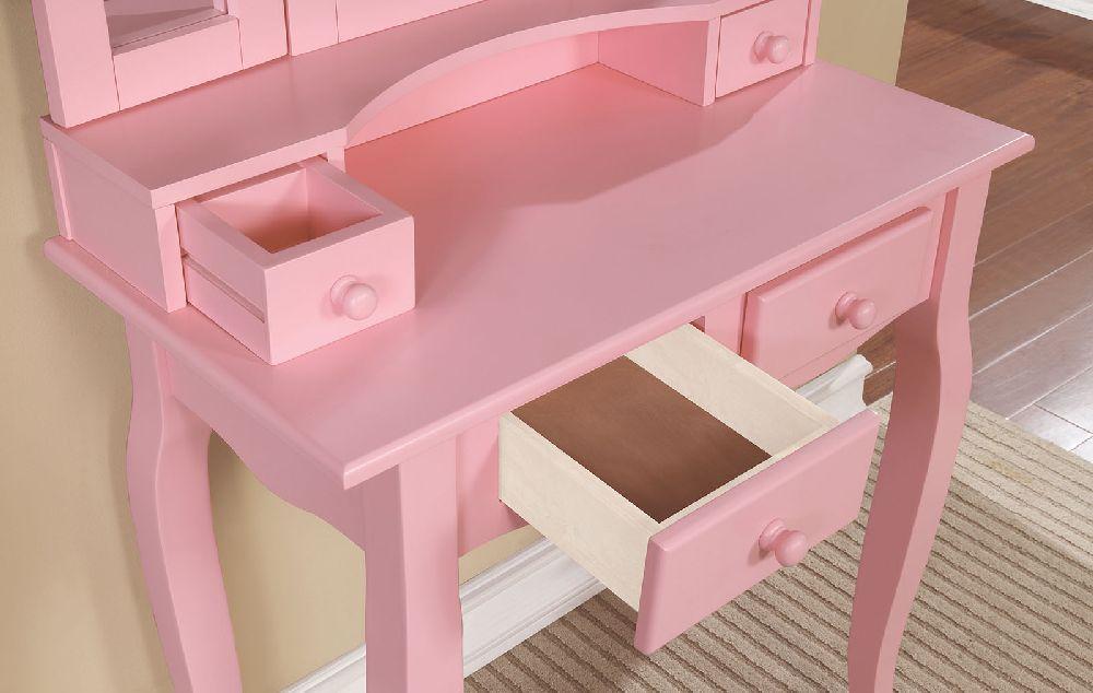 Janelle DK6846PK Pink Vanity Collection
