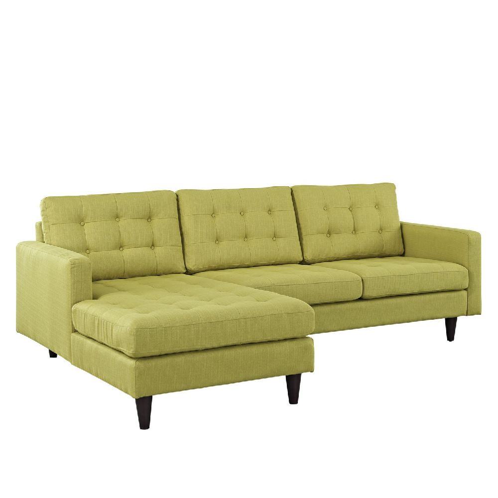 Naomi EEI-1666GR Green Sectional Sofa  sc 1 st  Wyckes Furniture : green sectional sofa - Sectionals, Sofas & Couches