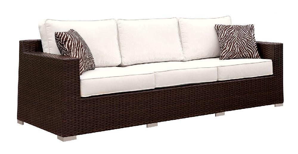 Os1827wh 8 Pc White Patio Outdoor Sofa Set San Diego Los
