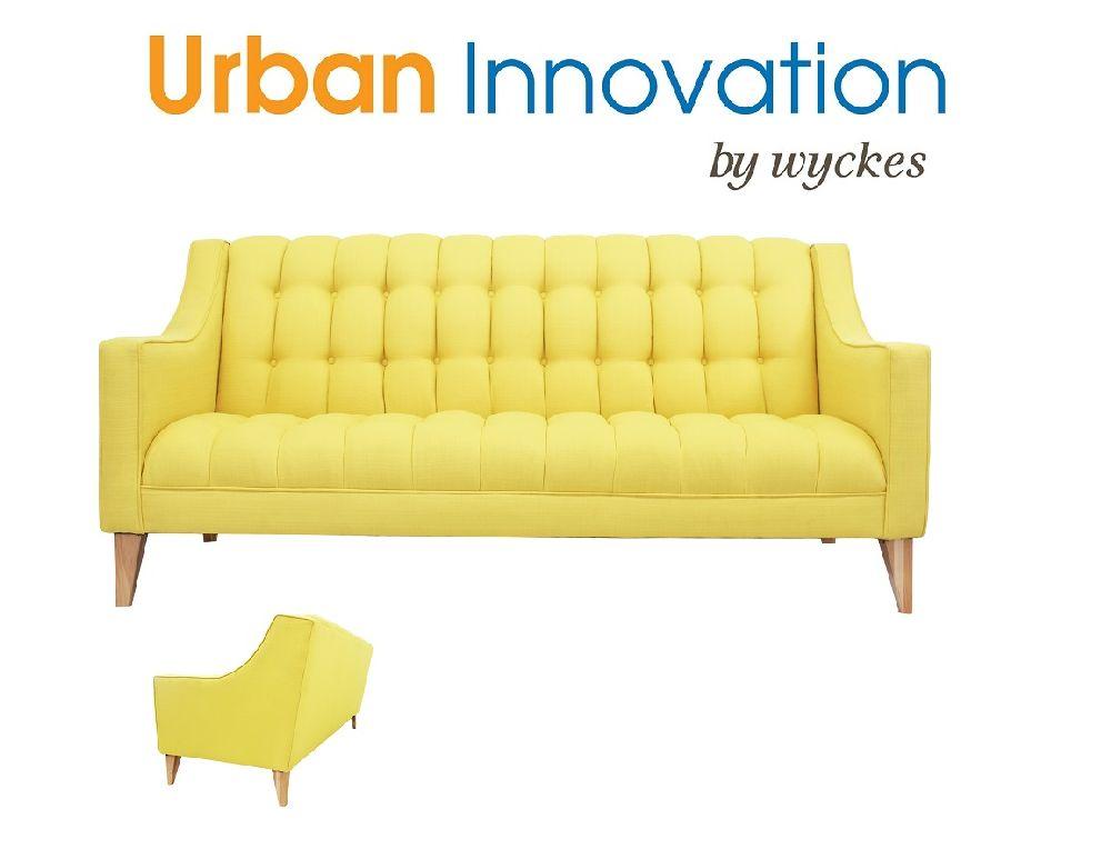 Sophia Custom Tufted Sofa By Urban Innovation