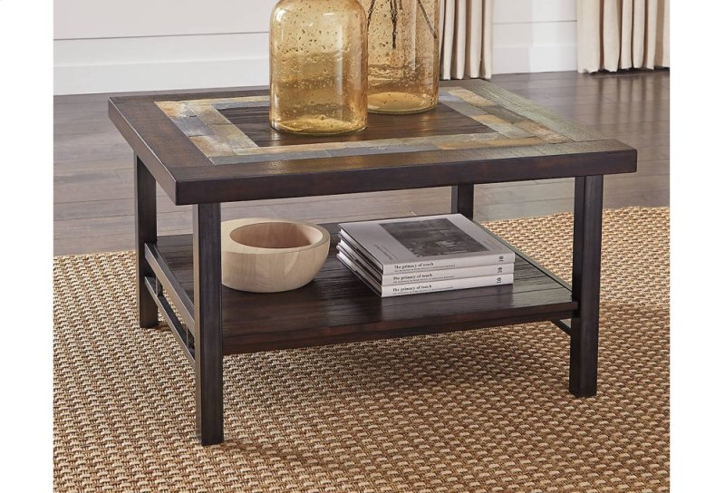 The Gallivan Coffee Table T053 1 by Ashley Furniture Brown