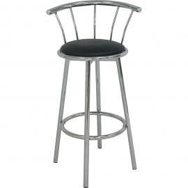 Cucina by Acme 02045BK Bar Height Swivel Stool Set of 2
