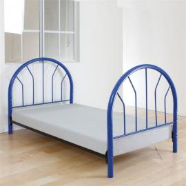 Silhouette by Acme 02054BU Blue Twin Bed Frame