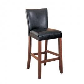 Coaster Rec Room 100387 Bar Stool Set of 2 in Brown Leatherette