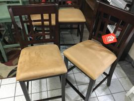 CLEARANCE Counter Height Dining Chair set of 2 CERRITOS STORE ONLY