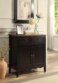 Lance Collection 101047 Black Wine Cabinet