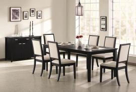 Louise Collection 101561 Transitional Dining Table Set