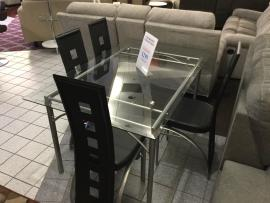 CLEARANCE 5 PC Dining Set (Table and 4 Chairs) CERRITOS STORE ONLY
