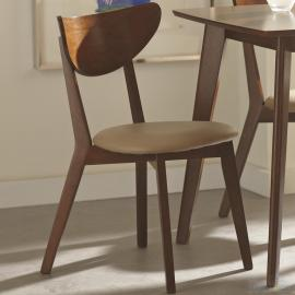 Kersey 103062 Contemporary Side Chair Set of 2