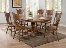 brooks collection country dining table set