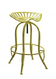 Coaster 104950 Rec Room Bar Stool in Antique Yellow