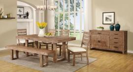 Elmwood Collection 105541 Dining Table Set