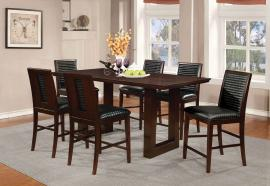 Chester Collection 105728 Counter Height Dining Table set