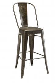 Coaster Metal 106016 Bronze Bar Stool Set of 2