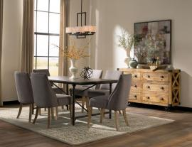 Donny Osmond Home 106461 Antonelli Blue Stone Modern Vintage Dining Set