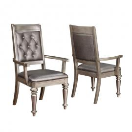 Danette 106473 Dining Arm Chair Set of 2