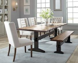 Scott Living Burnham 107791 Live Edge Dining Set