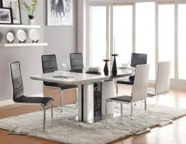 Broderick Modern Collection 120941 Contemporary Dining Table Set