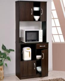 Acme Furniture 12258 Quintus Espresso Kitchen Cabinet