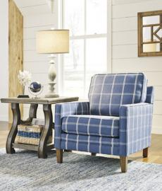 Ashley 1440321 Adderbury Accent Chair in Cobalt