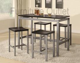 Goshen Collection 150095 Counter Height Dining Table Set