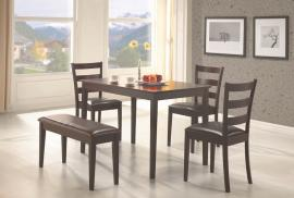 Travis Collection 150232 Casual Dining Table Set