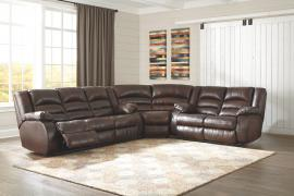 Levelland Cafe by Ashley 17001 Reclining Sectional Sofa